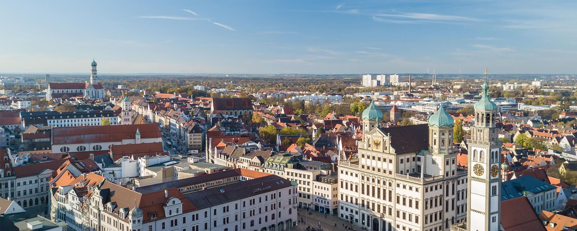 Titelbild von Augsburg