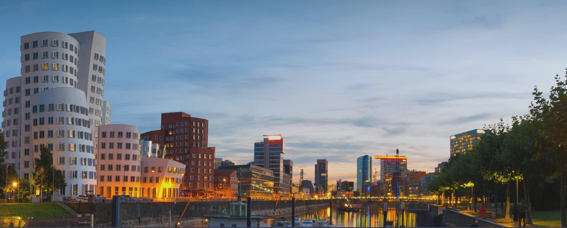 Titelbild von Düsseldorf