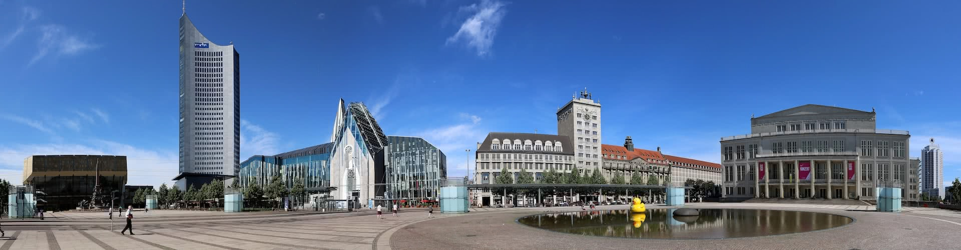 Titelbild von Leipzig
