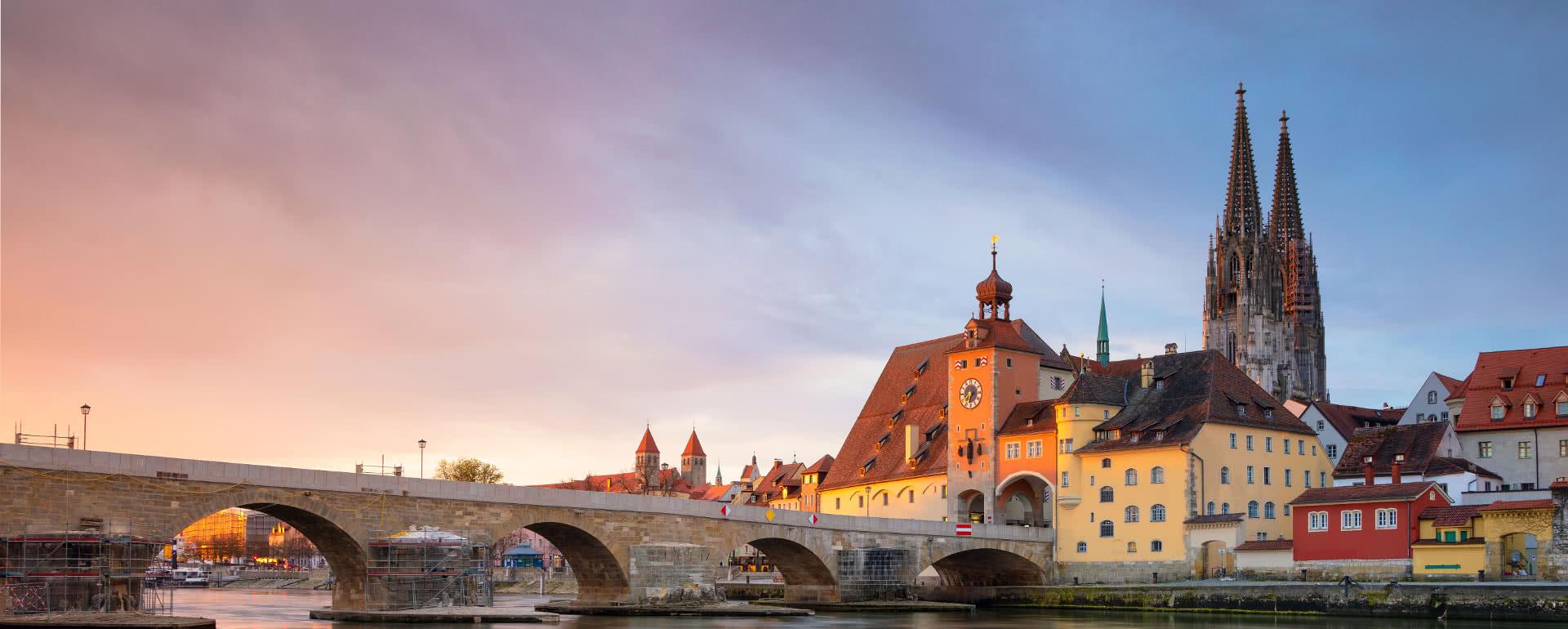 Titelbild von Regensburg