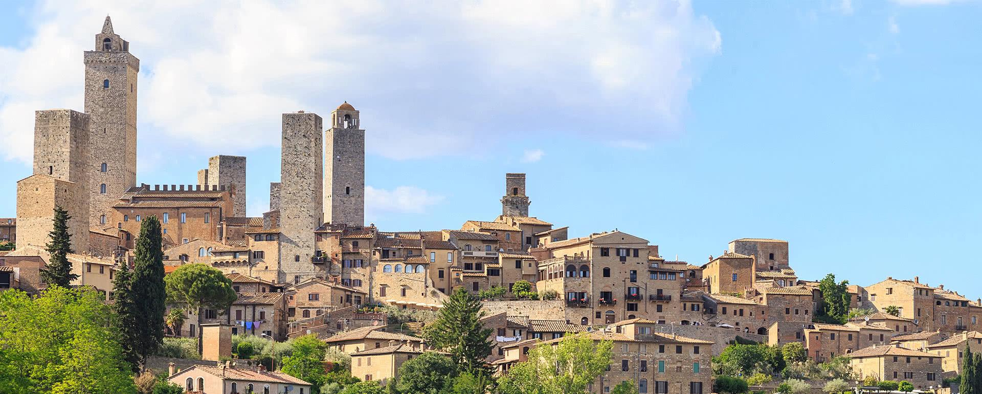 Titelbild von San Gimignano