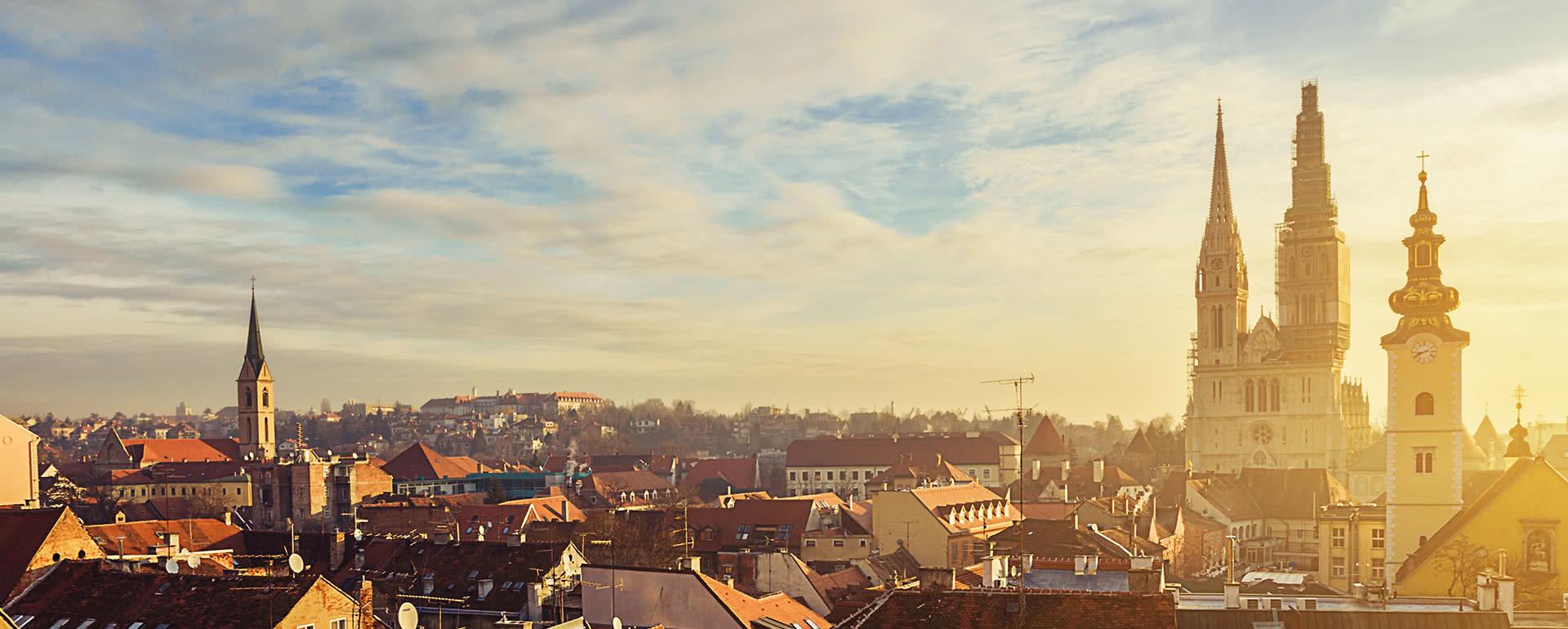 Titelbild von Zagreb