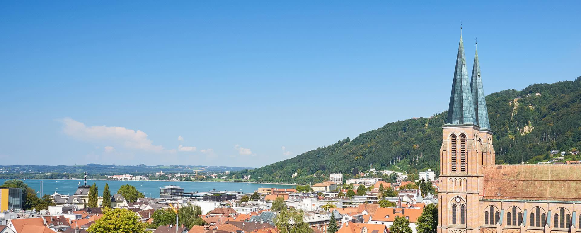 Titelbild von Bregenz