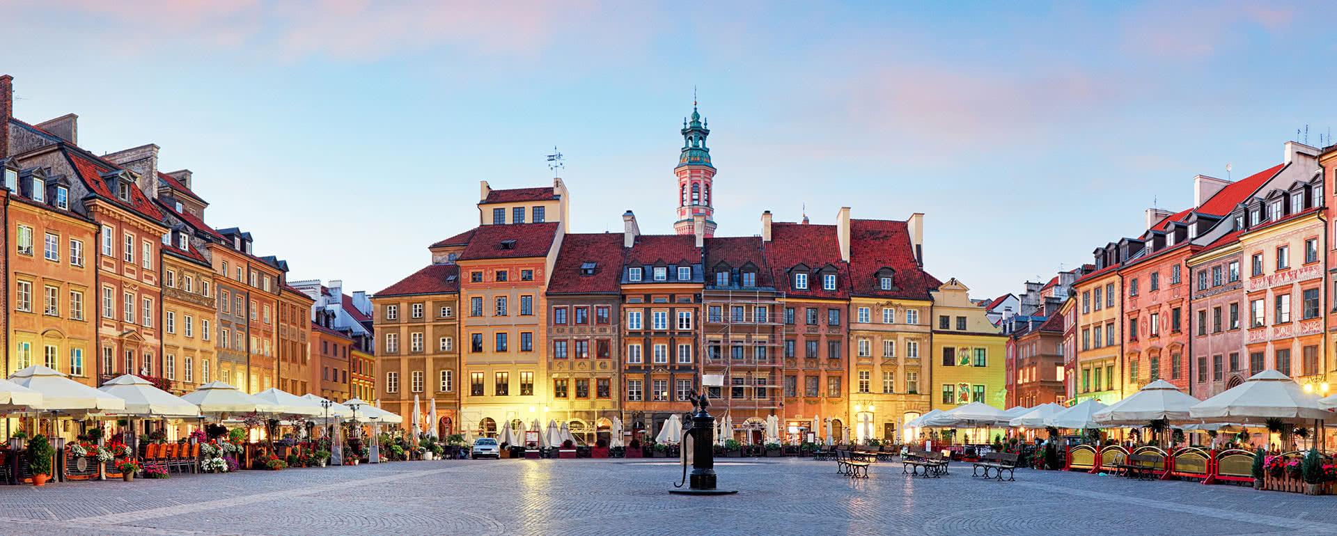 Titelbild von Warschau