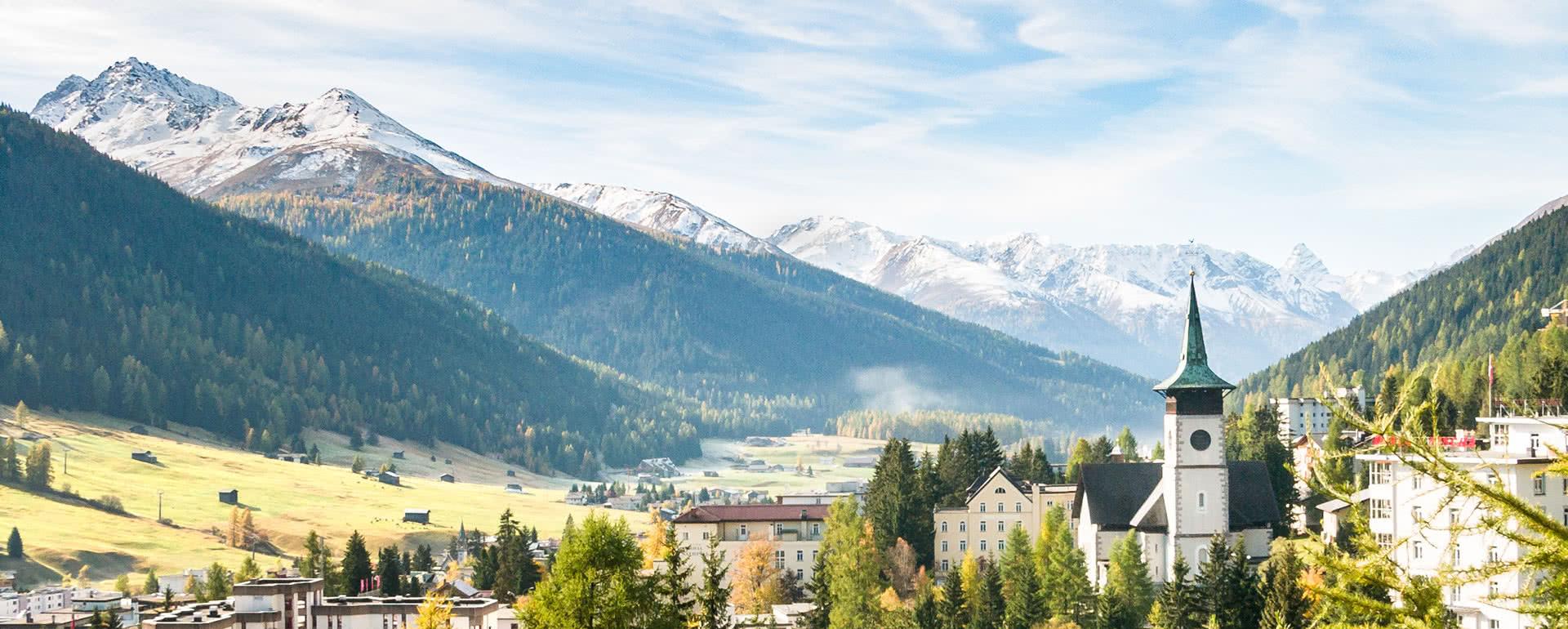Titelbild von Davos