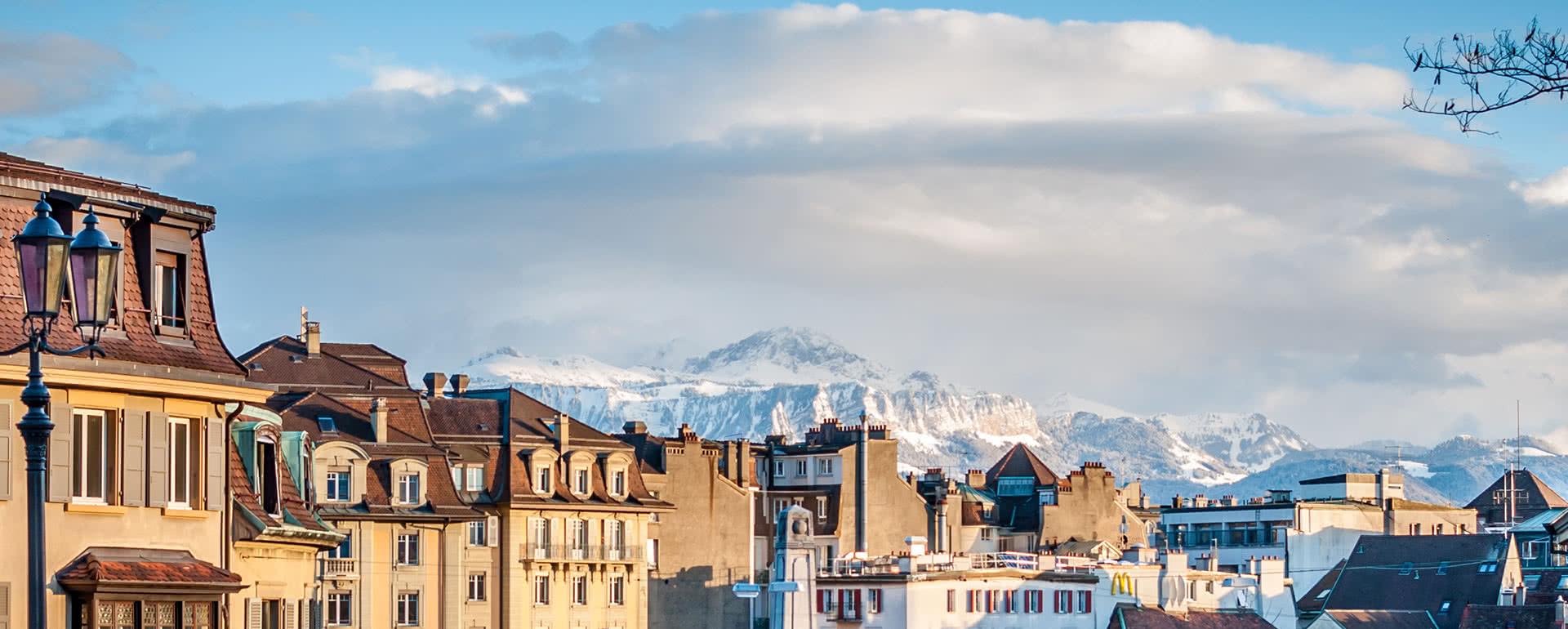 Titelbild von Lausanne