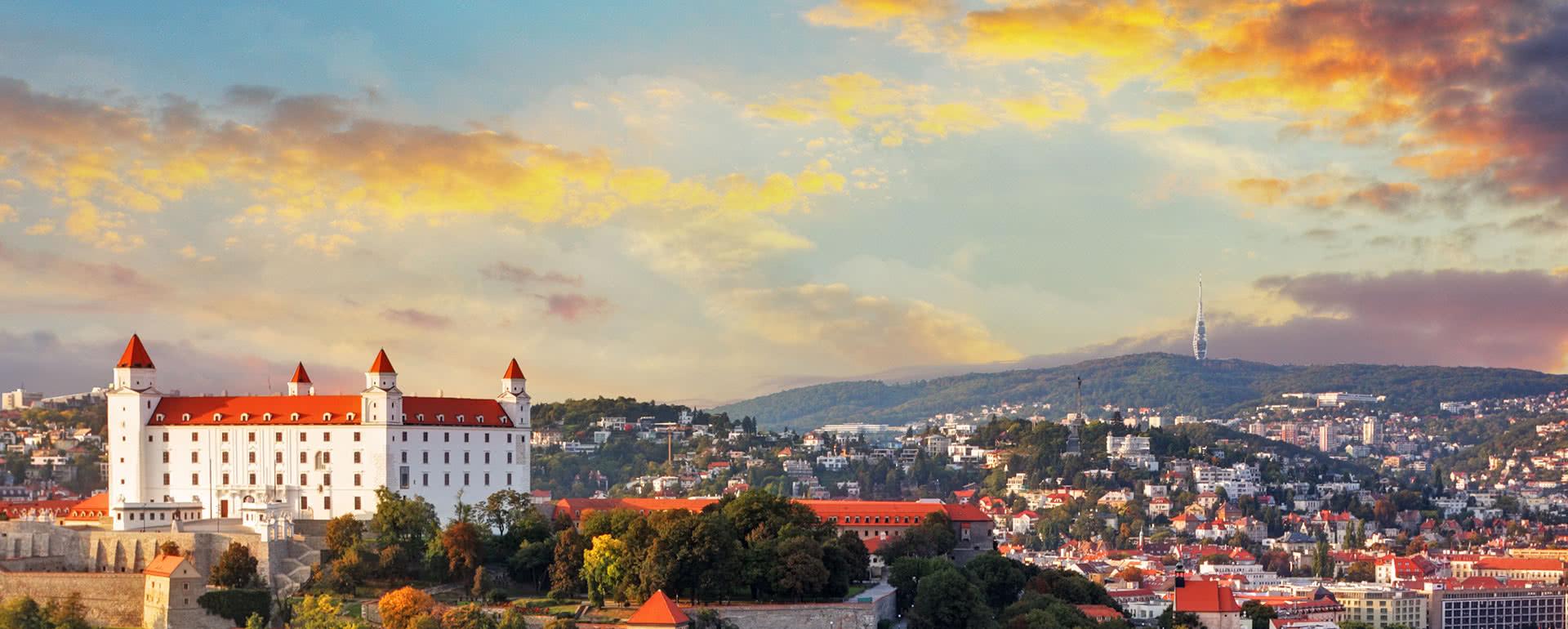 Titelbild von Bratislava