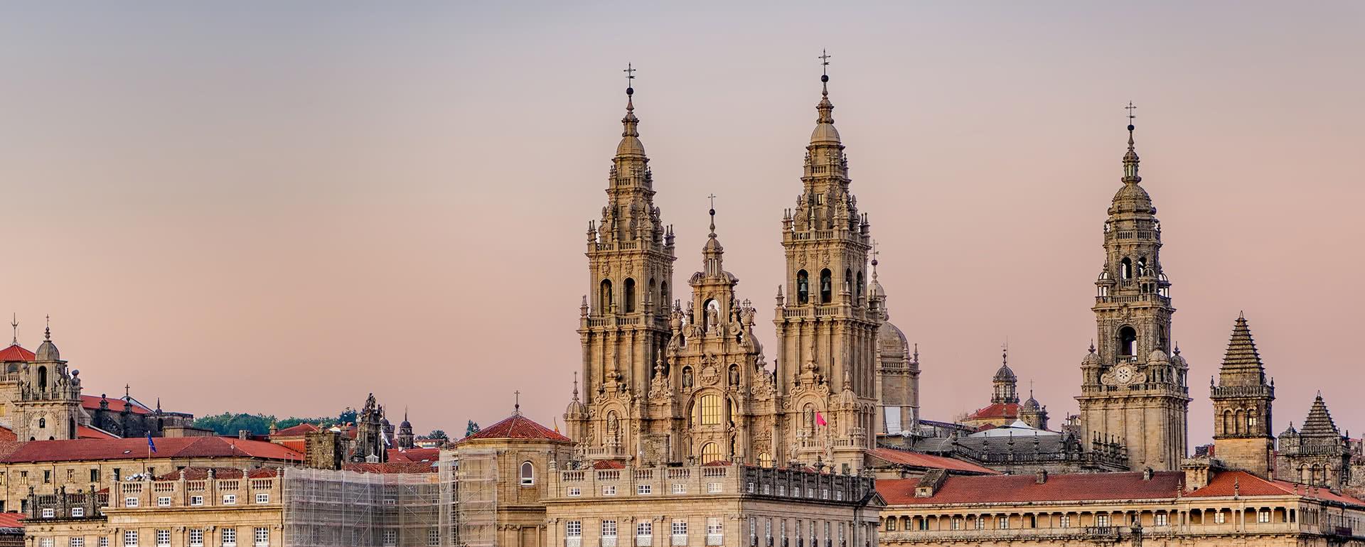 Titelbild von Santiago de Compostela