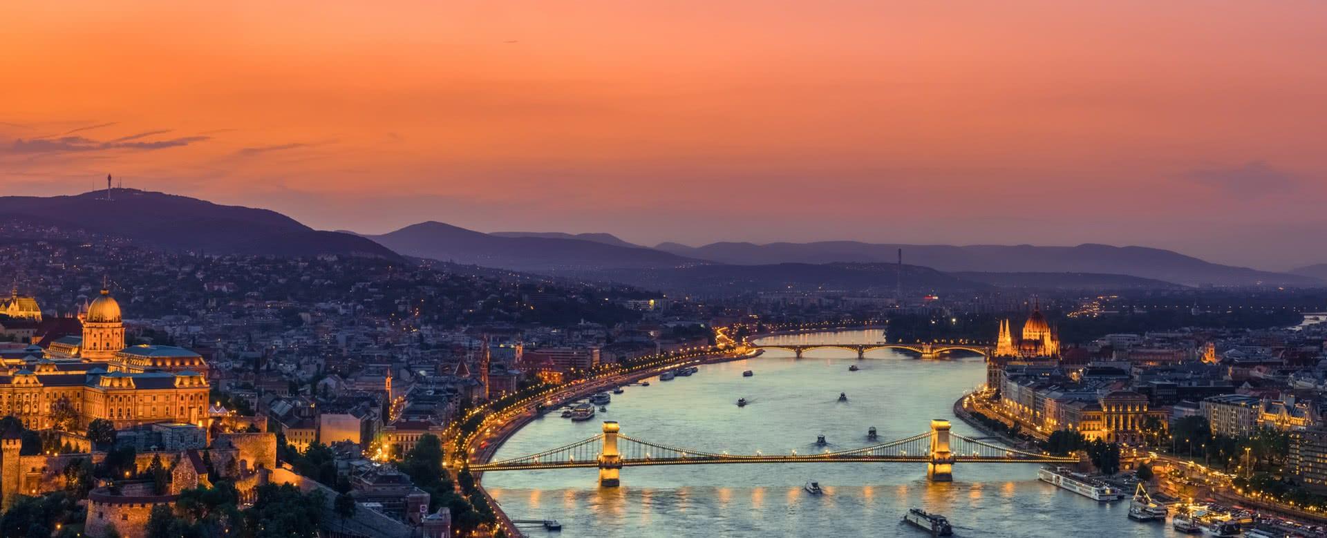 Titelbild von Budapest